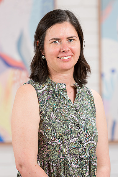 Portrait of Jeanie Welch – Director and Senior Certified Practising Speech Pathologist